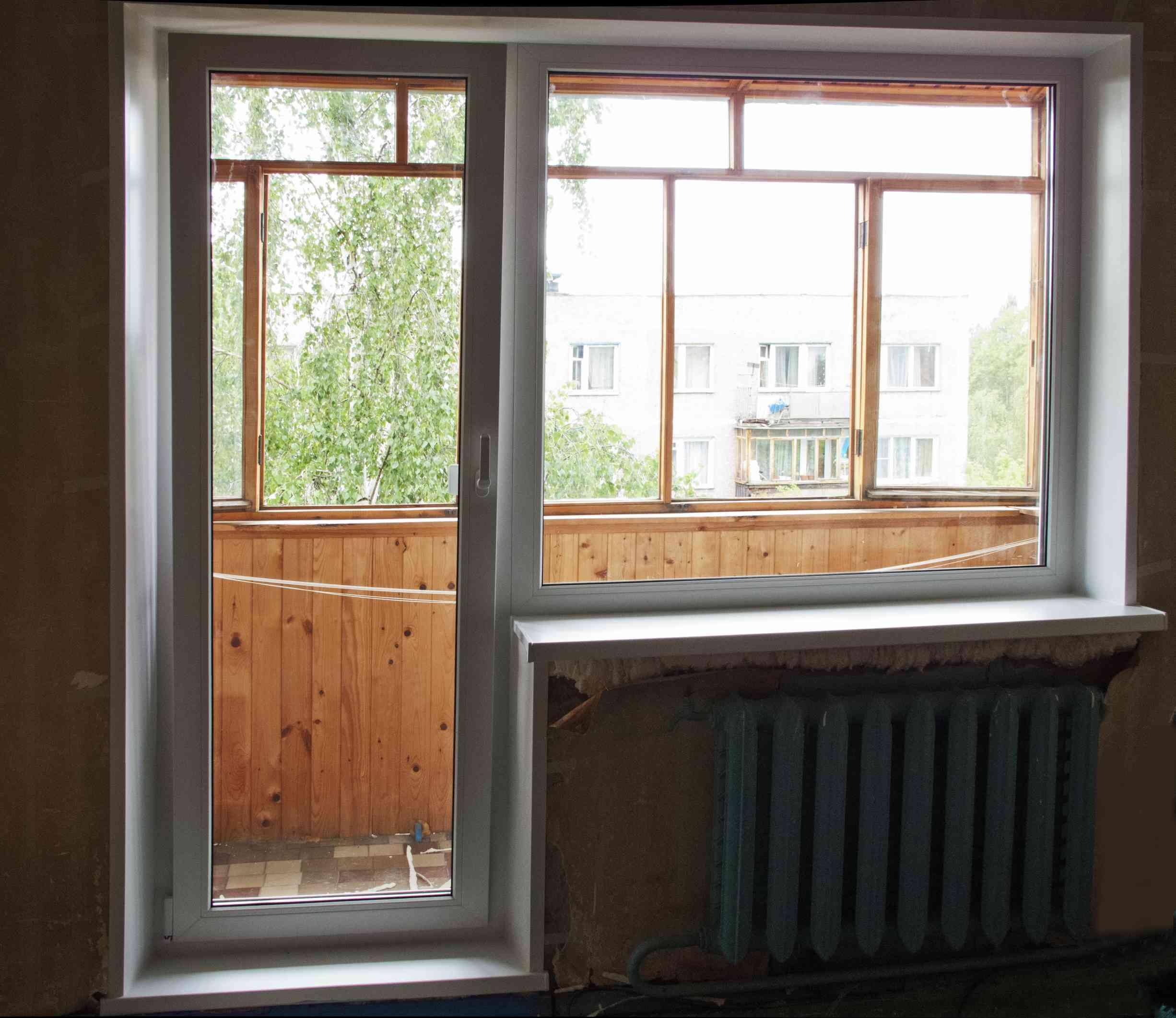 Отделка балконов, отделка лоджий.